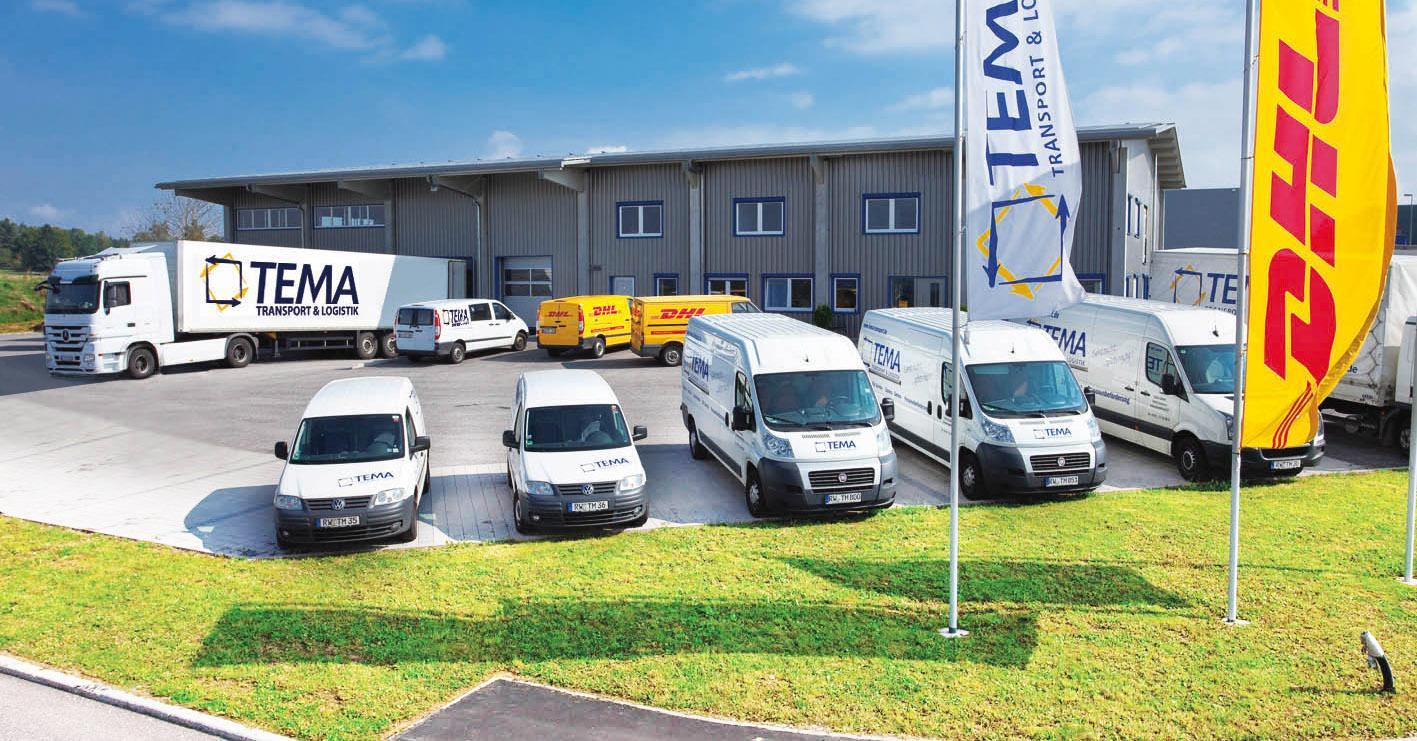 Außenaufnahme Tema Transport & Logistik Standort