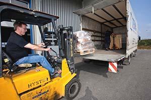 Transport Logistik bei Tema Transporte